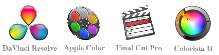 Tutorials & Training: Resolve 8, Colorista II, Color 1.5, Final Cut Pro